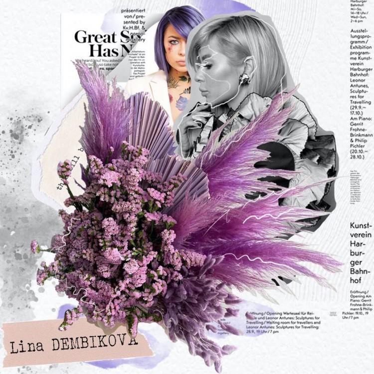 авторский букет LinaDembikova