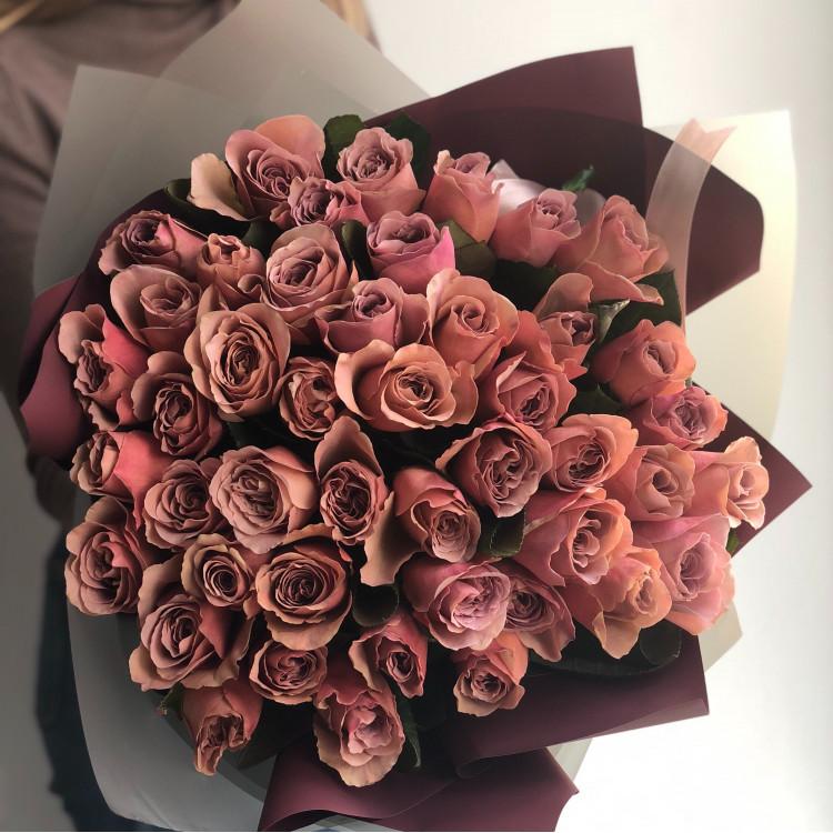 Пионовидные розы Кафе Латте (Café Latte)