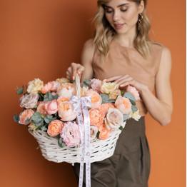 цветочная корзина Воздух Апреля