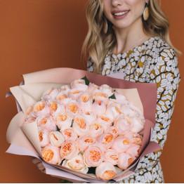 пионовидная роза Джульетта (одноголовая)