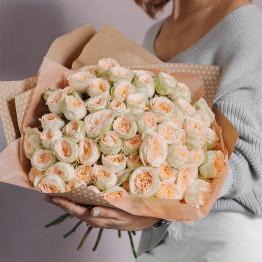 Розы кустовые пионовидные Павлова