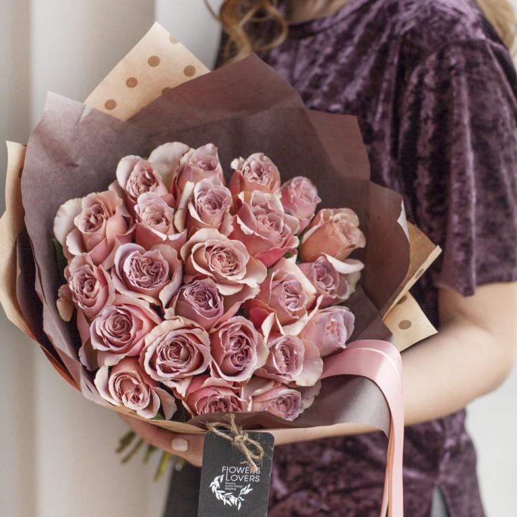 Розы Кофе Латте
