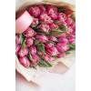 Тюльпаны пионовидные коралловые