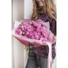 Розы кустовые пионовидные Мисти Баблс