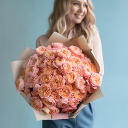 Пионовидная кустовая роза Джульетта