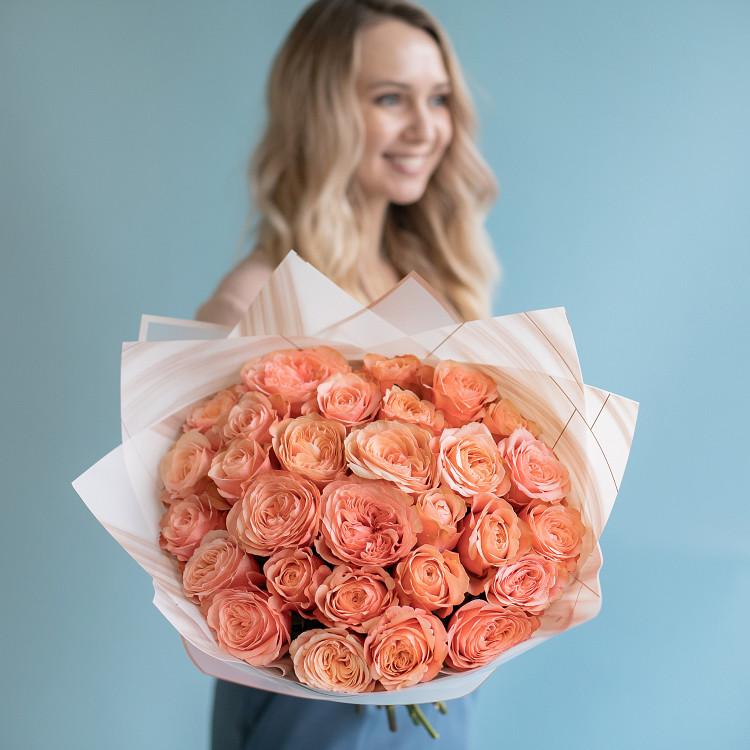 Розы пионовидные Кахала